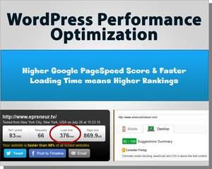 Boost WordPress Website Speed & Google PageSpeed Score by ...