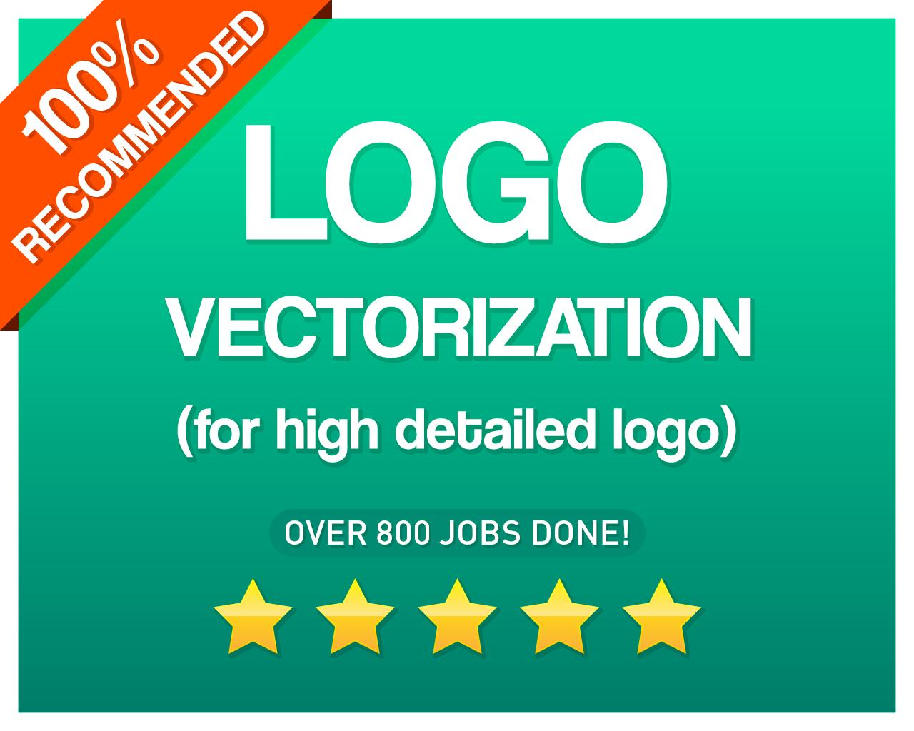 High Quality Logo Vectorization by CvLd_Design - 105594