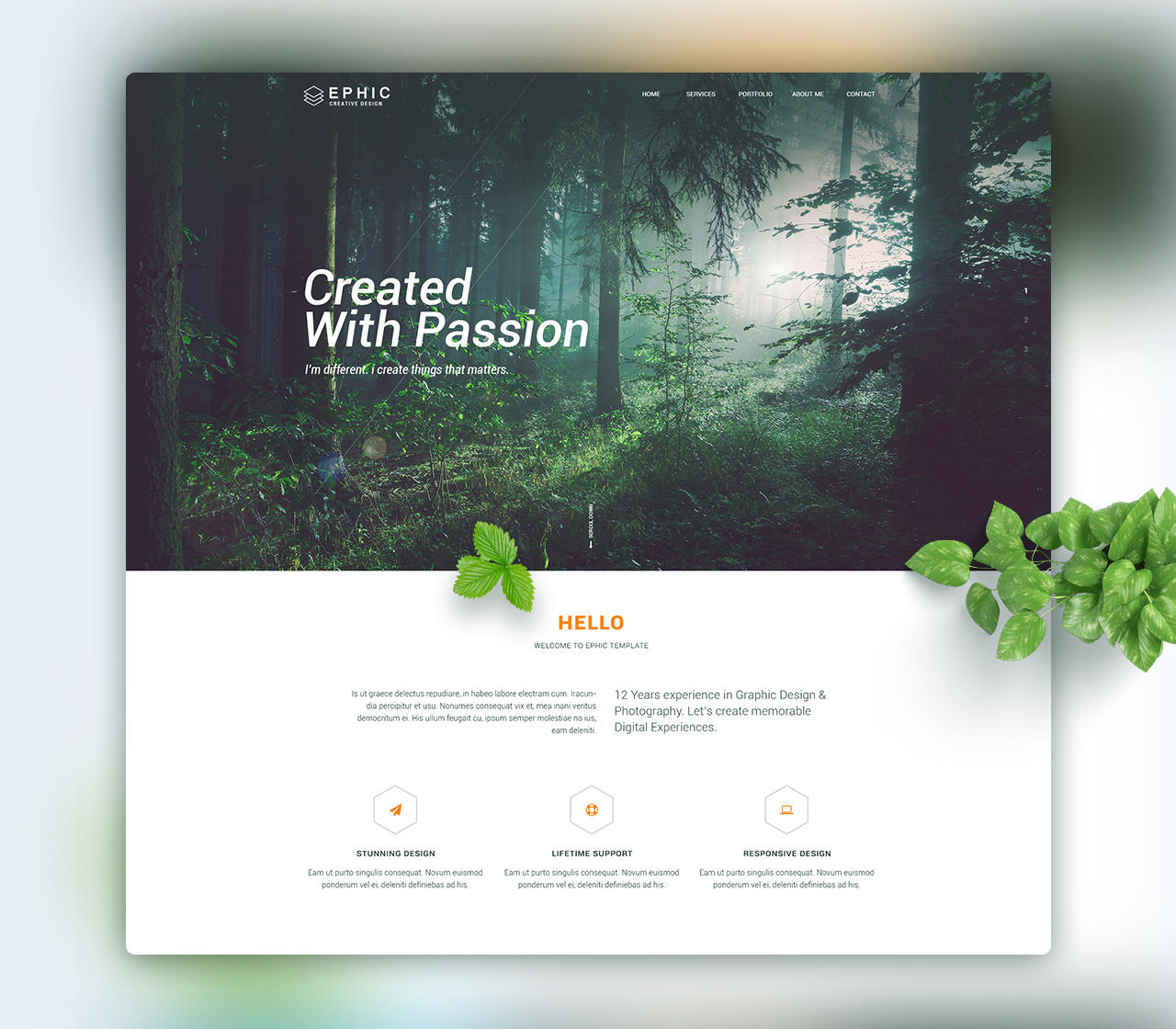 decorate my home page professional home page landing page design by konnstantinc 10689