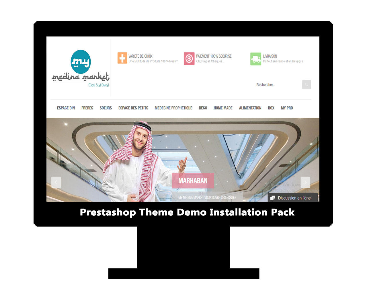 Prestashop Theme Installation & Demo Setup by AritonangWofa - 80545