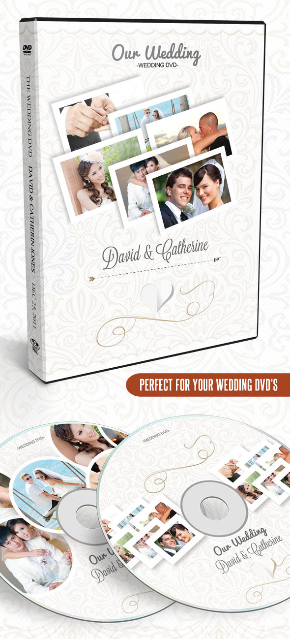Wedding DVD Artwork by ShermanJackson - 2076