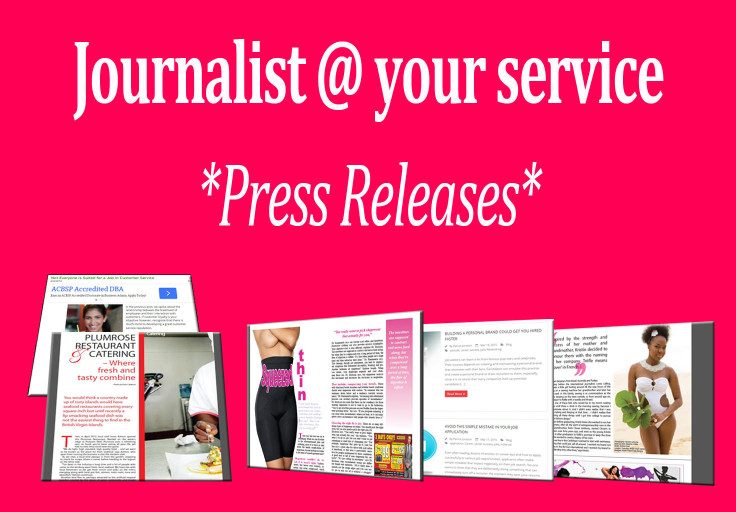 Professional Media Ready Press Releases by Prowritersden - 73861