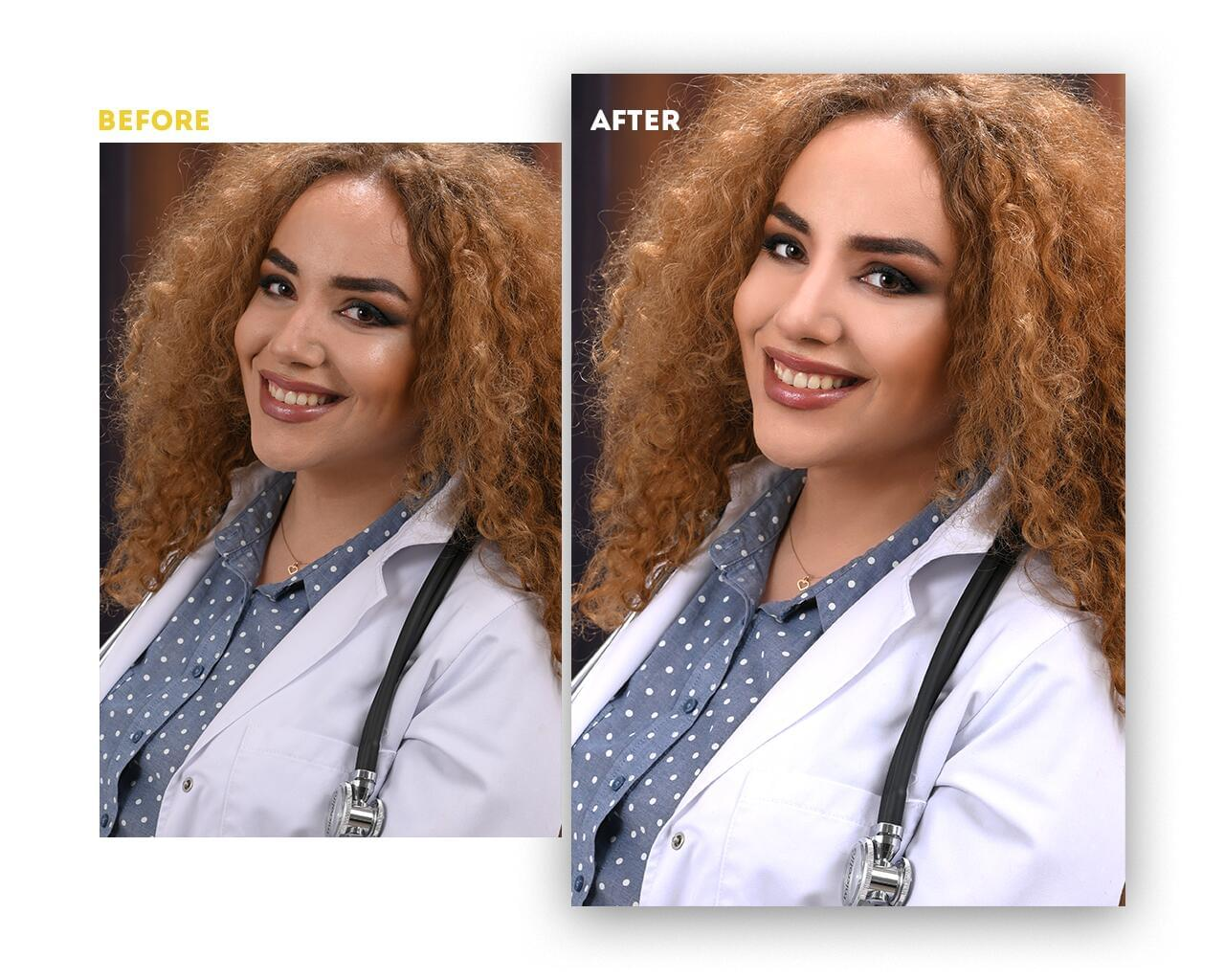 Professional Portrait Photo Retouching by artnook - 117907