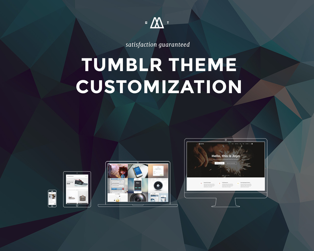 Tumblr Theme Customization by getThemed - 83492