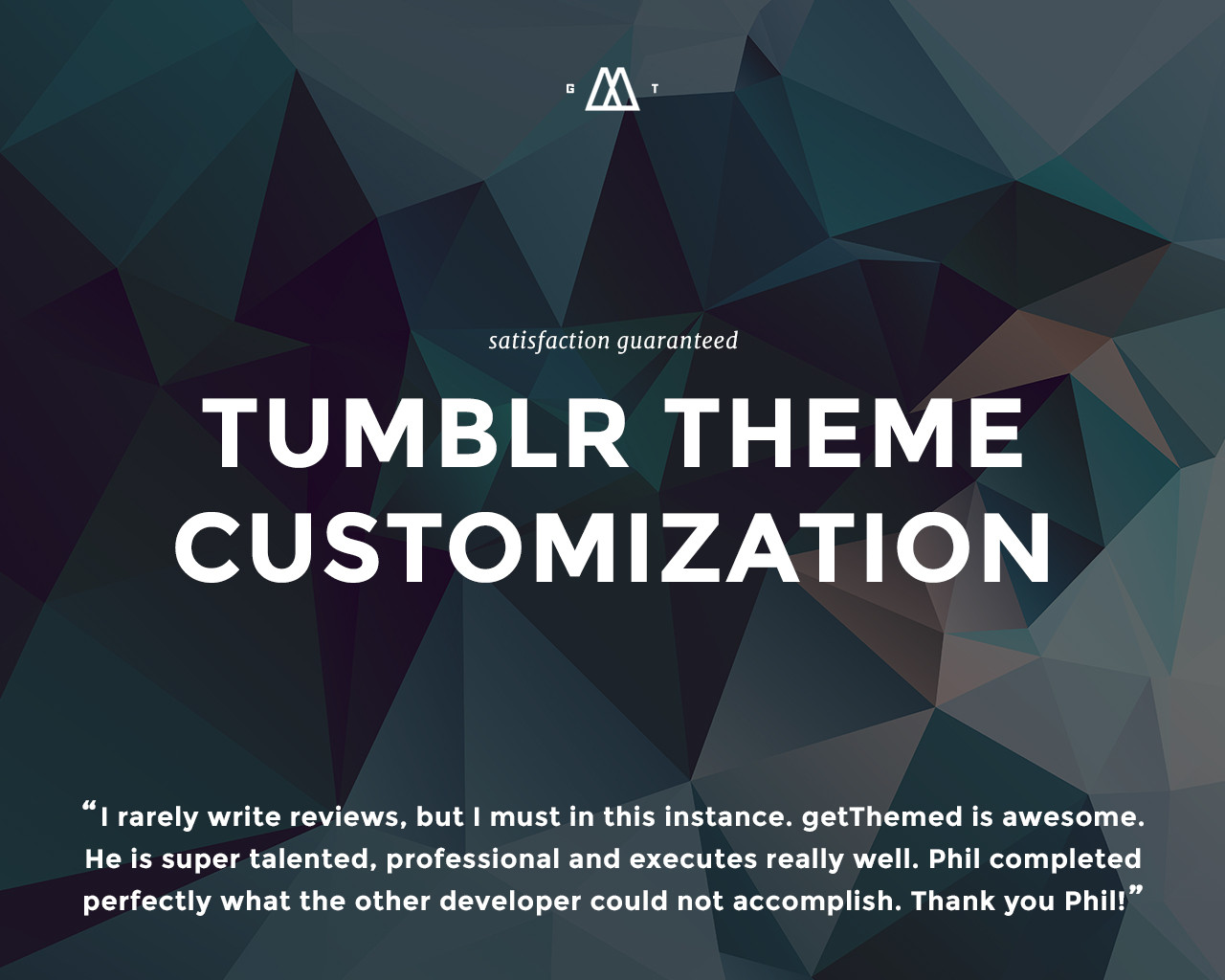 Tumblr Theme Customization by getThemed - 83491