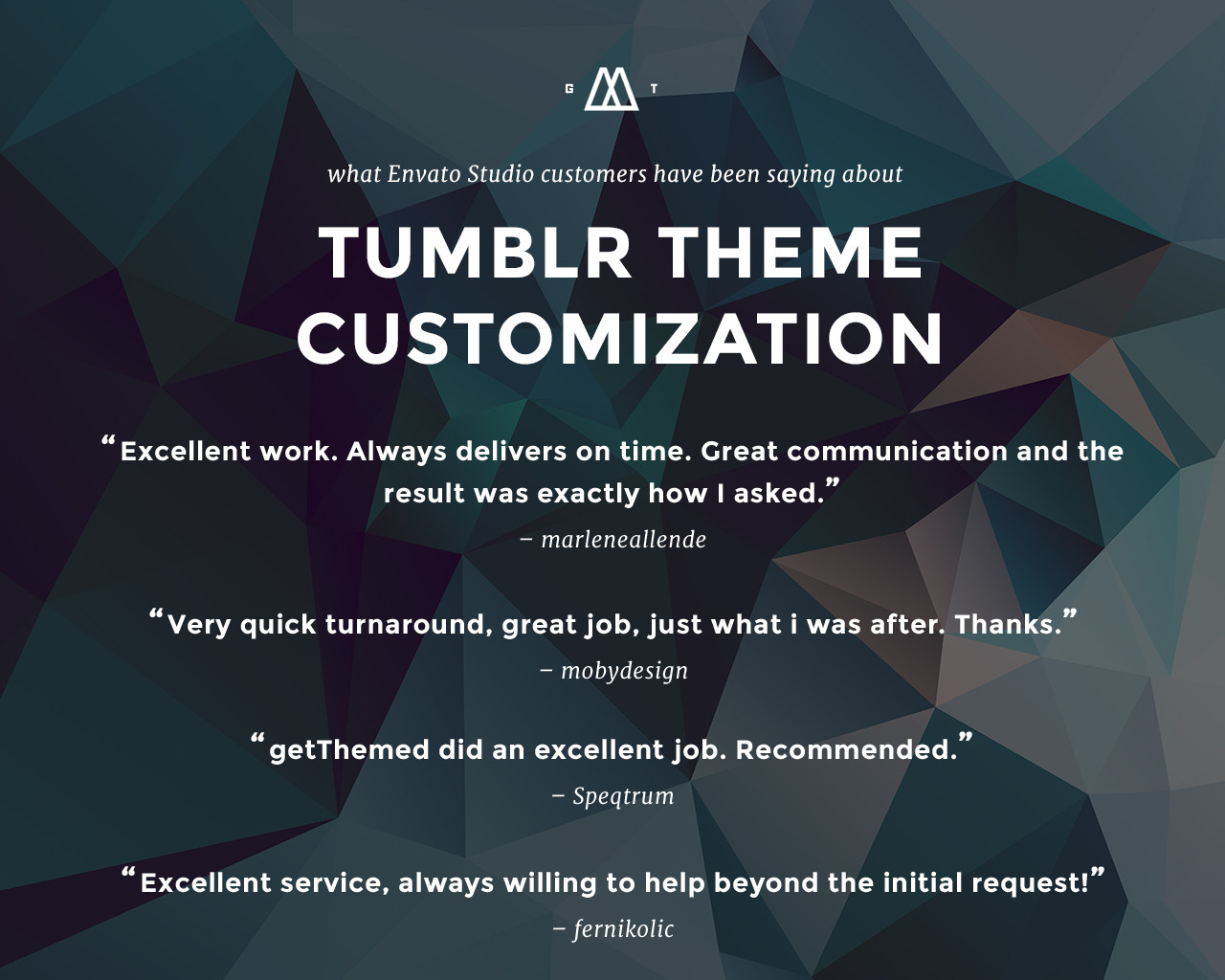 Tumblr Theme Customization by getThemed - 83493