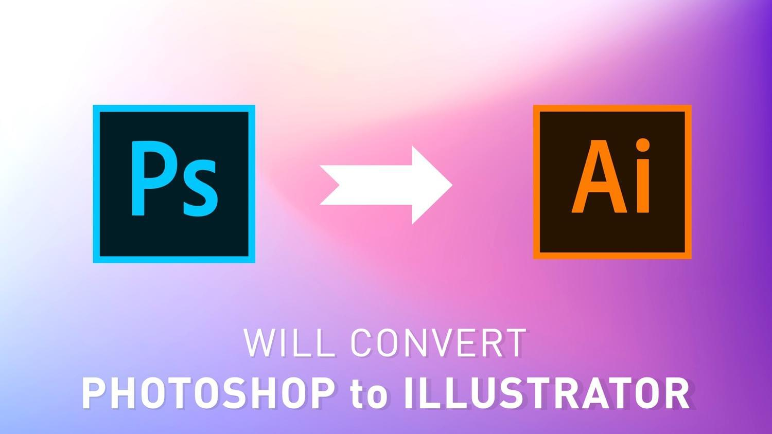 Convert Photoshop to Illustrator by arvaone - 115070