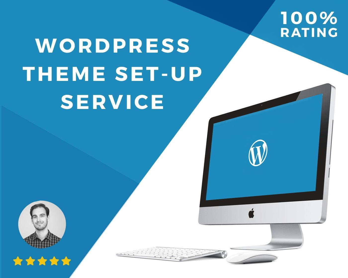 WordPress Install + Theme Install + Branding by Ryan_Carter - 104850