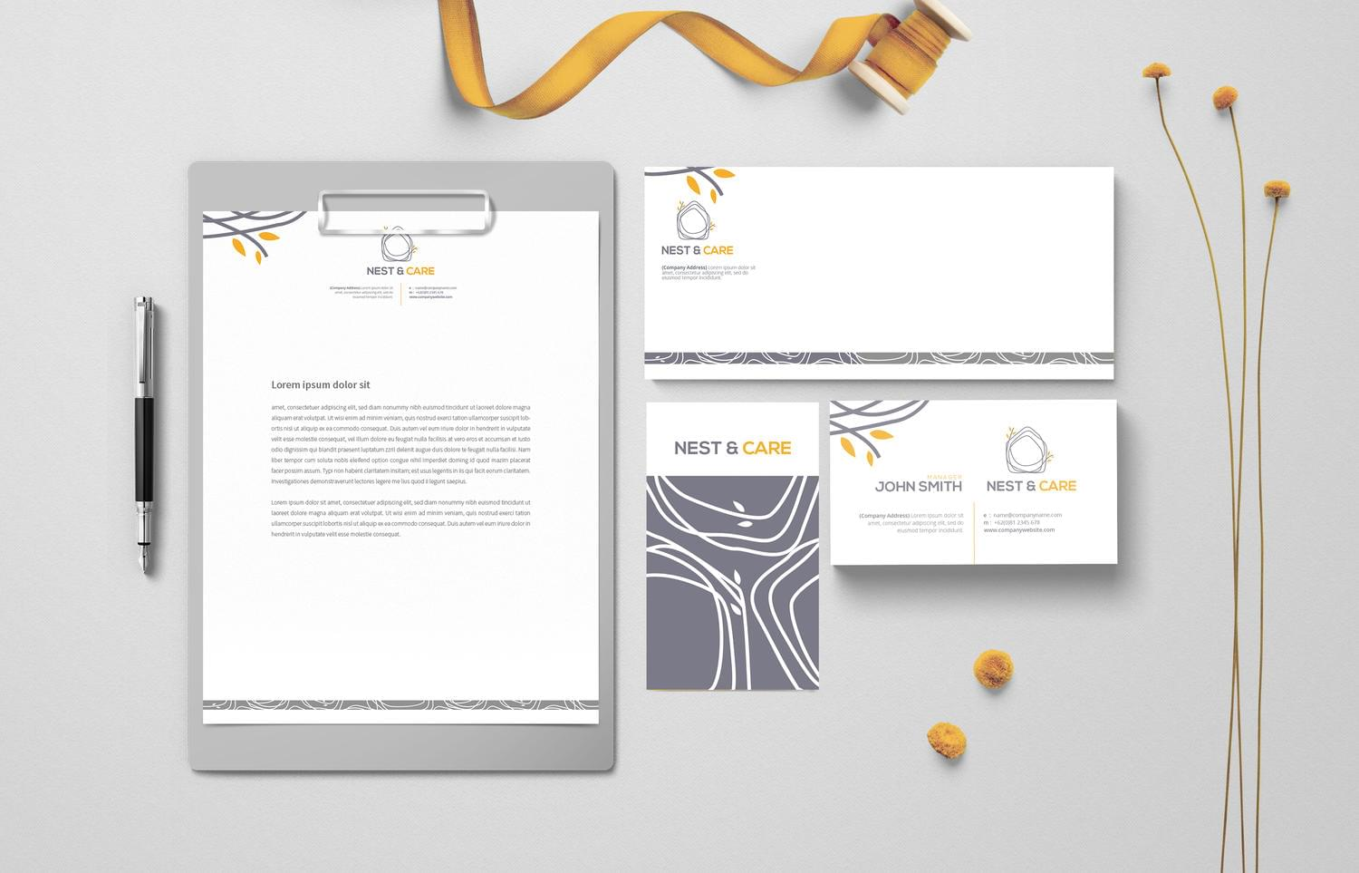 Corporate, Professional Stationery Design  by Graphicsc - 111605