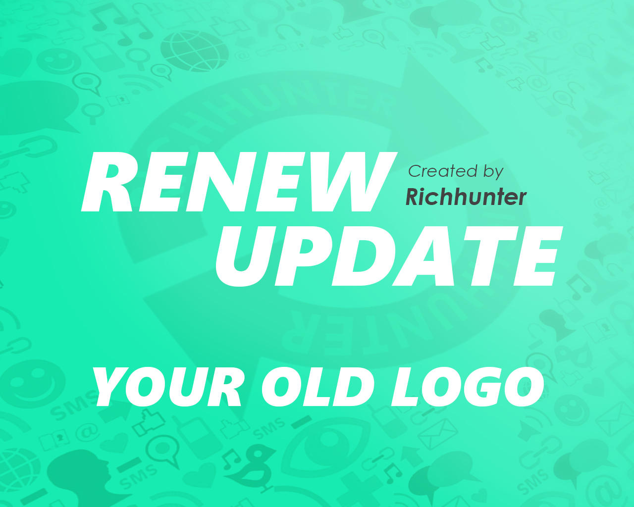 Re-New or Update Your old Logo to Professional Logo by Richhunter - 98651