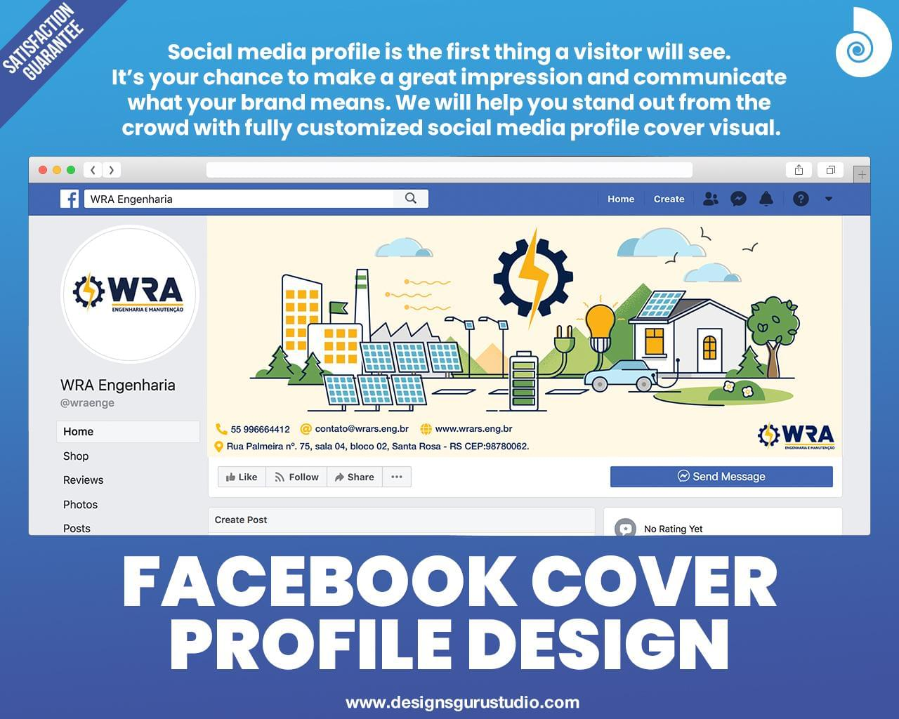 Facebook Cover Profile Design by designsgurustudio - 118892