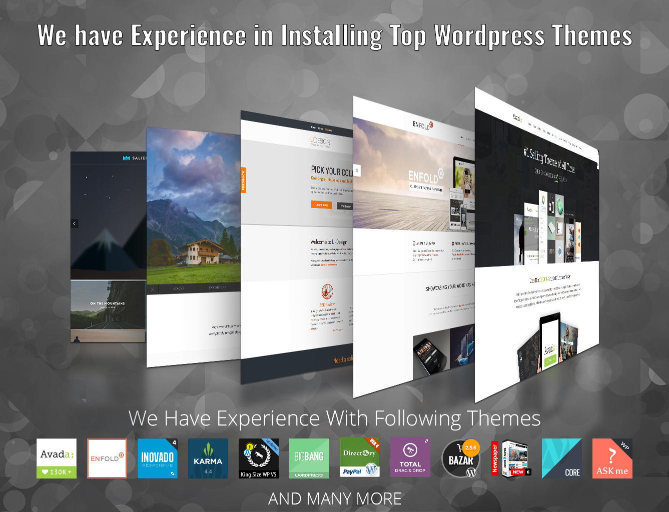 Wordpress Theme Installation (Install Theme,Import Demo Content,Add Logo) by snilesh - 82405