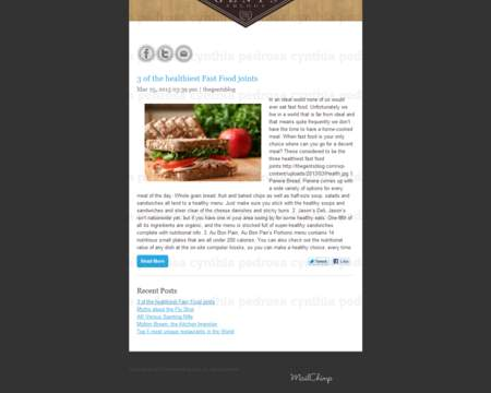 psd to responsive html email or mailchimp template by zeolyte on