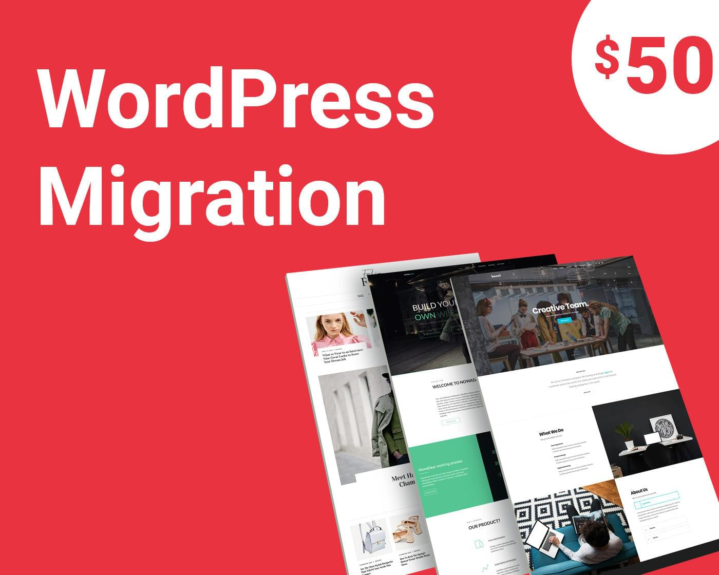 WordPress Website Migration/Transfer by designerchoize - 112803