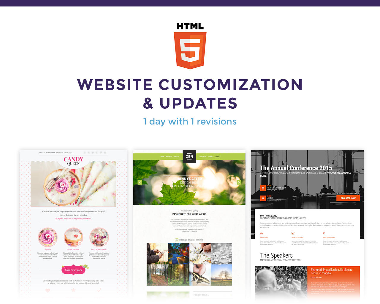 ThemeForest HTML Template Customization by magethemes - 70381