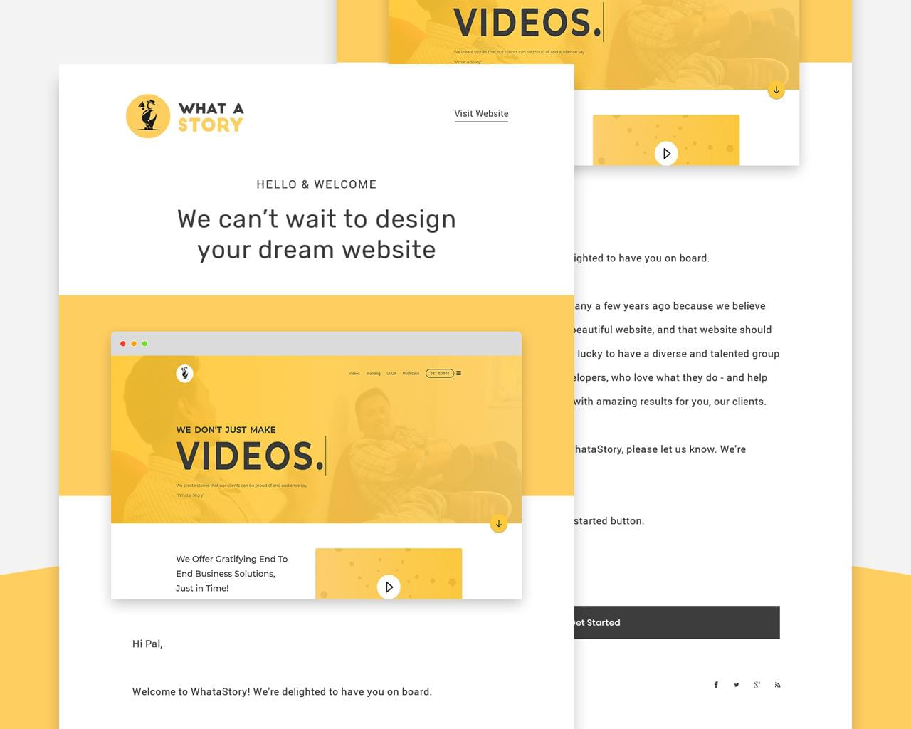 Professional PSD to Responsive HTML5 Email Template by Vicasso - 113643