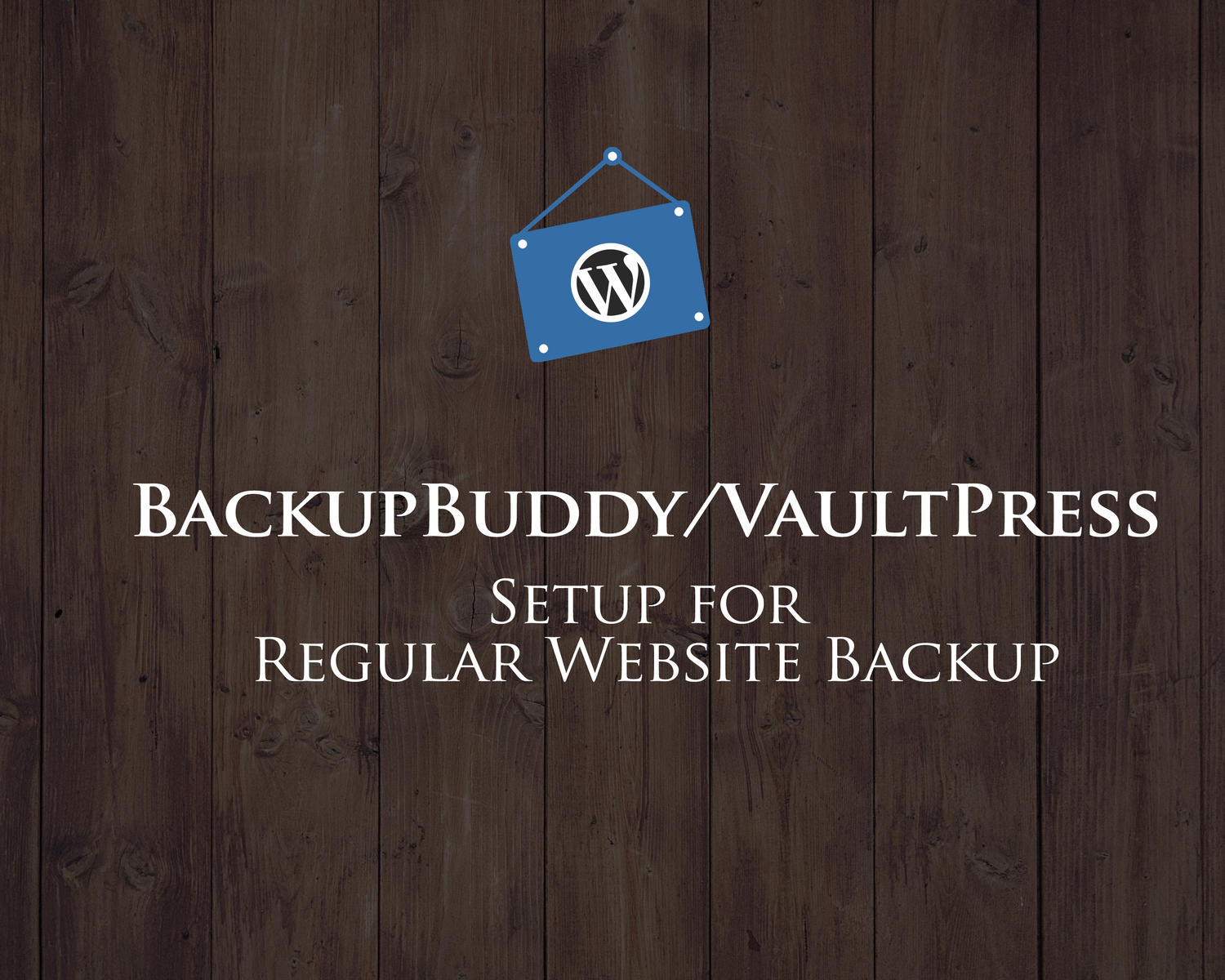 BackupBuddy/VaultPress Setup for Regular Website Backup by hasanet - 98064