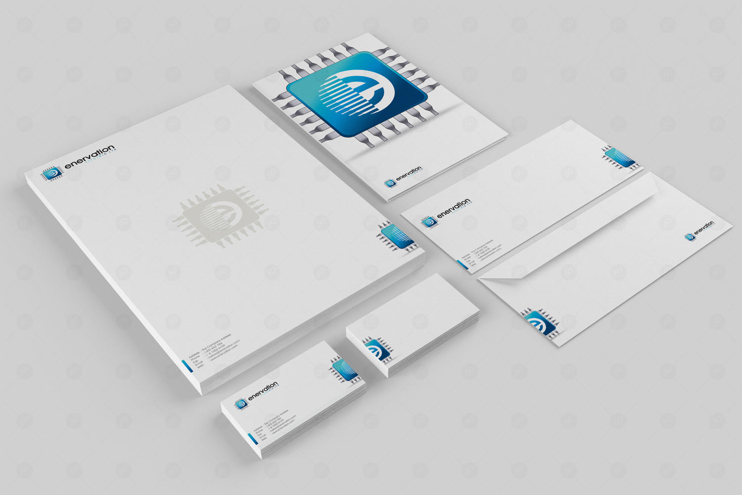 Corporate Stationery Design by ThomasPaul - 13346