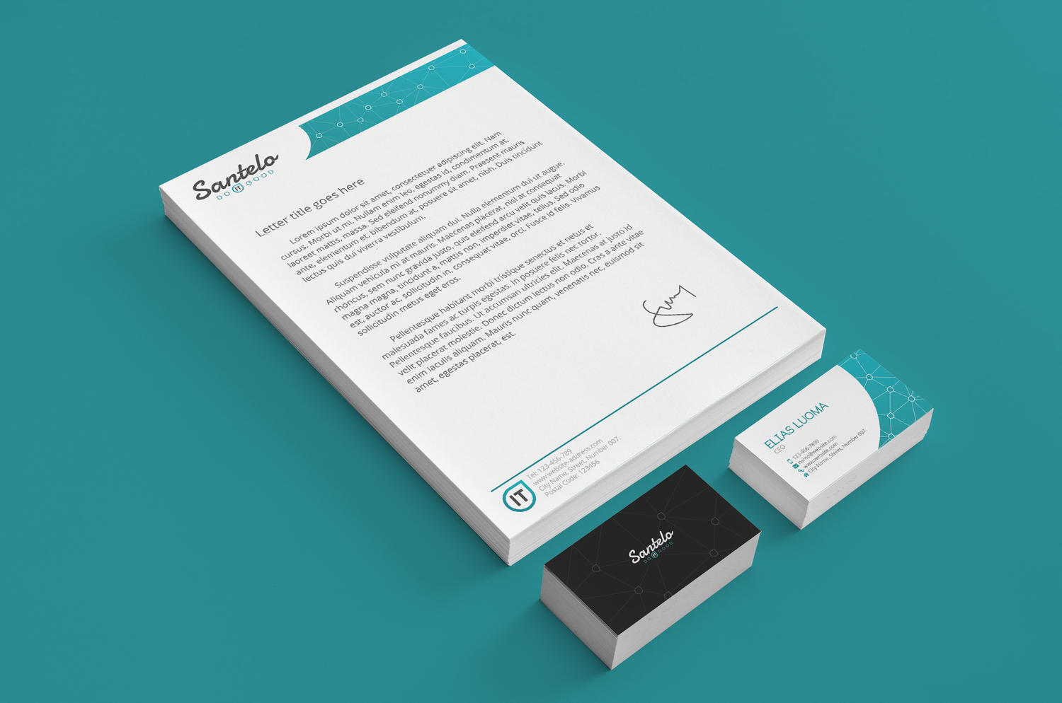 Premium Stationery Design & Marketing Collateral by WhiteX - 71080