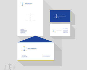 professional business cards letterheads envelopes and brand logo