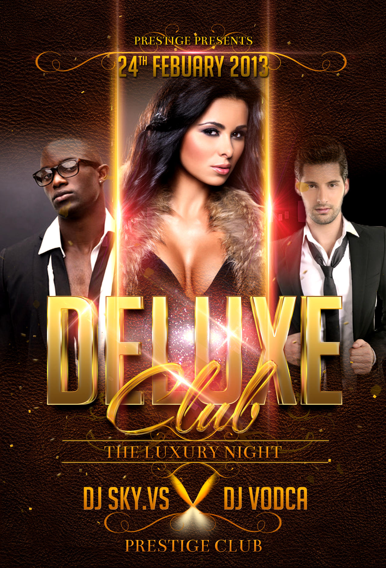 party club flyer design by graficandmedia on envato studio