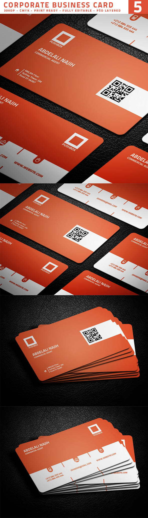 Creative Business Card Designing by KarimmovE - 19655