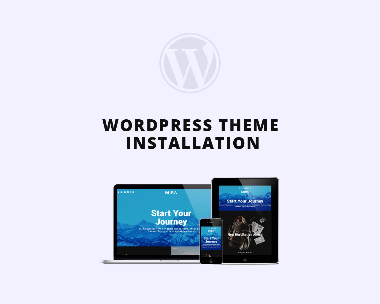 WordPress Theme Installation & Demo Setup by matchthemes - 106107