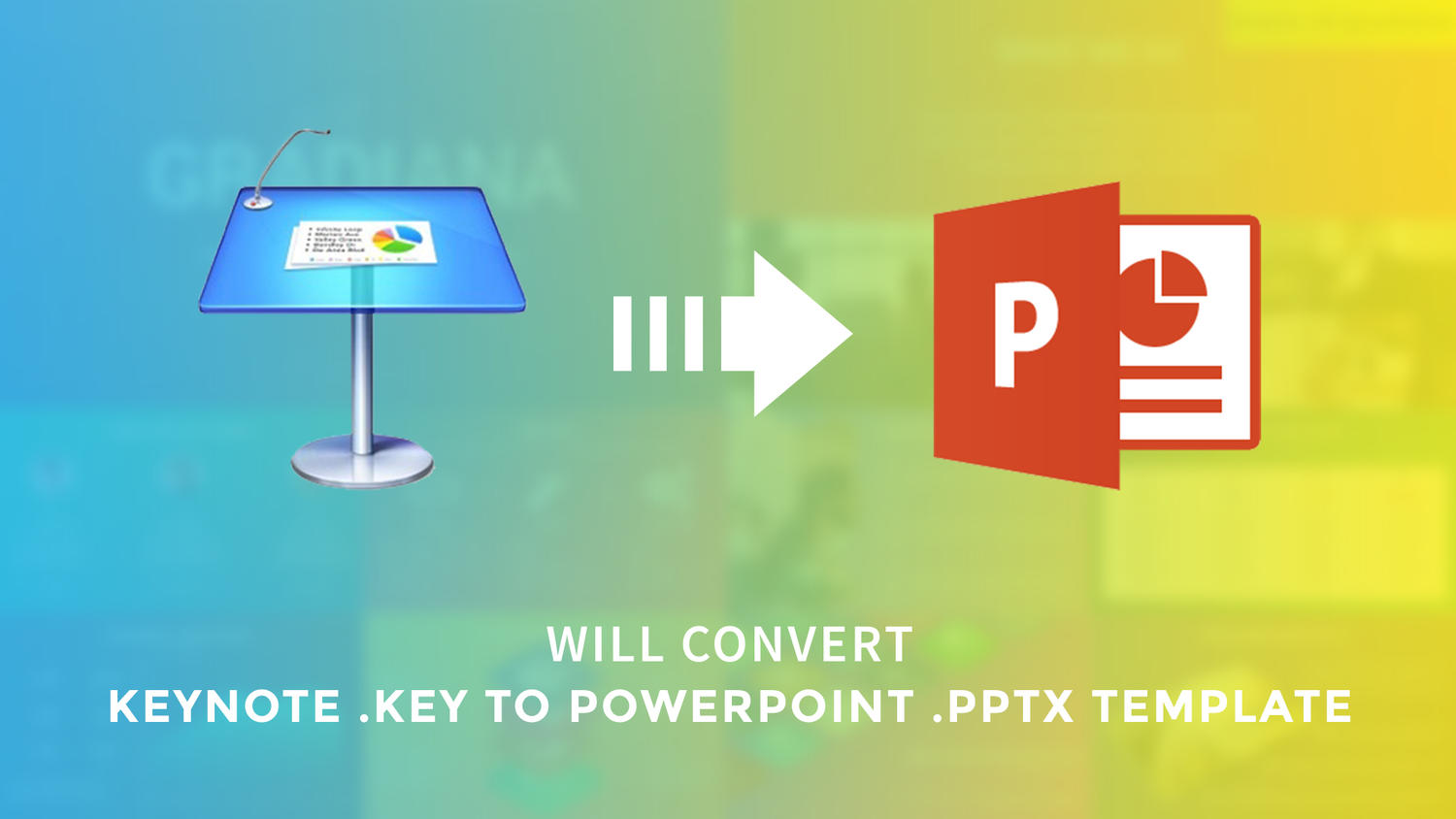 Convert Keynote to PowerPoint Template by arvaone on Envato Studio
