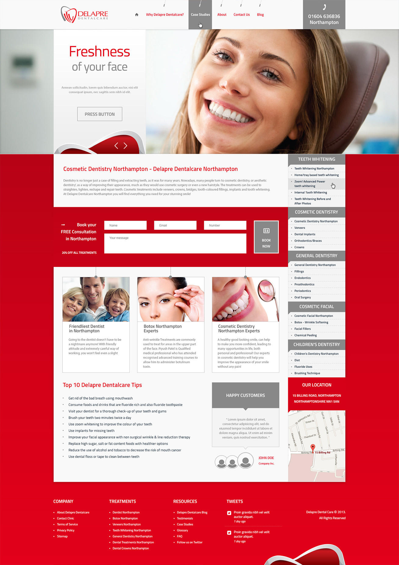 Express Premium Home Page Design / Redesign by AndiG - 54295