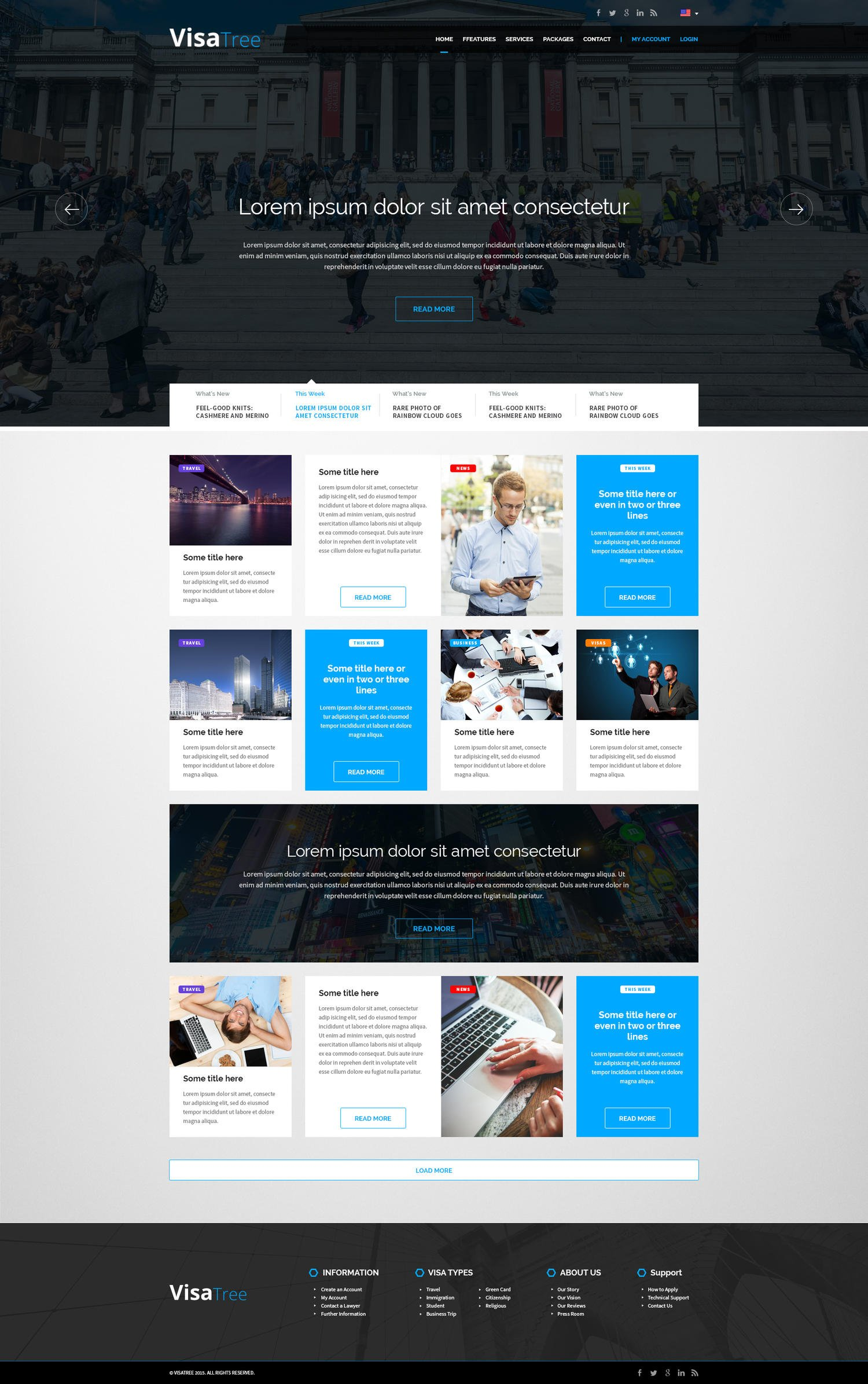 Premium Inner Page Web Design / Redesign by AndiG - 81403