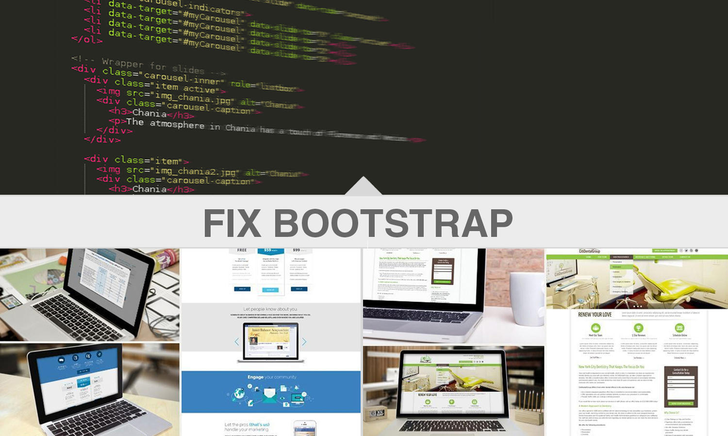 Fix Bootstrap Responsive Errors by madridnyc - 109631