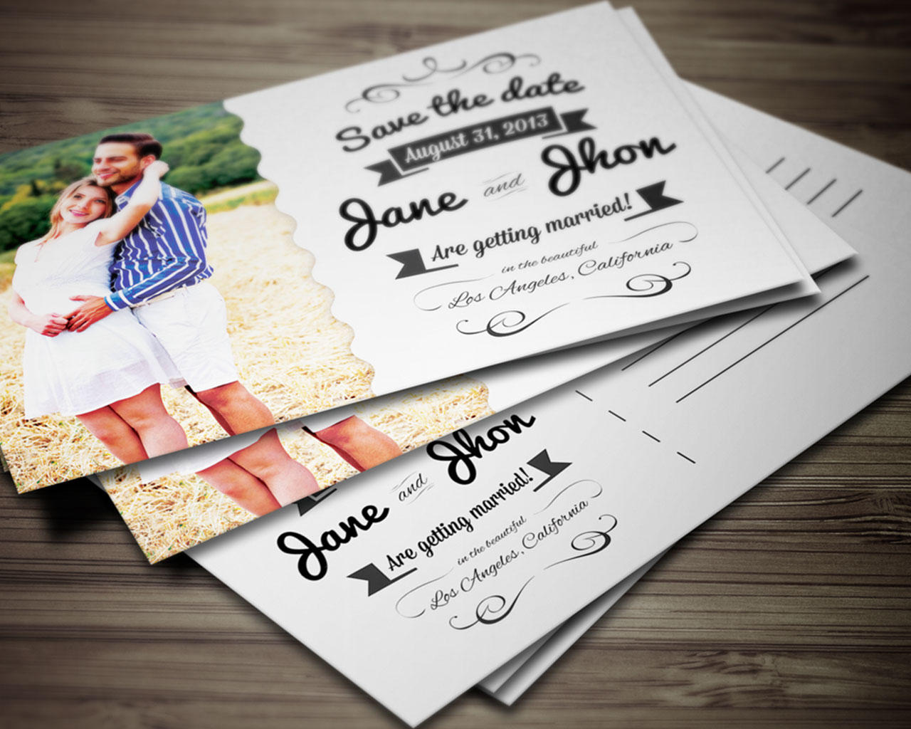 wedding invitation customization design by coralixthemes