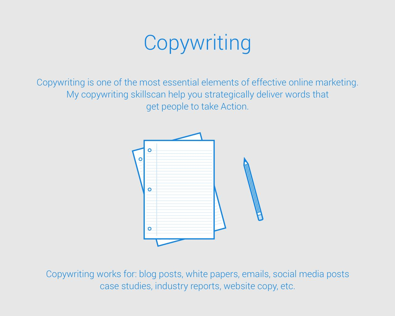 Copywriting by eddienewman - 102564