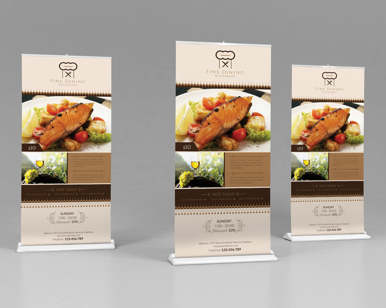 Roll-Up Banners Design by Wutip - 101981