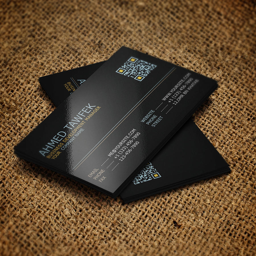 Professional Business Card Design by ahmedtawfek on Envato