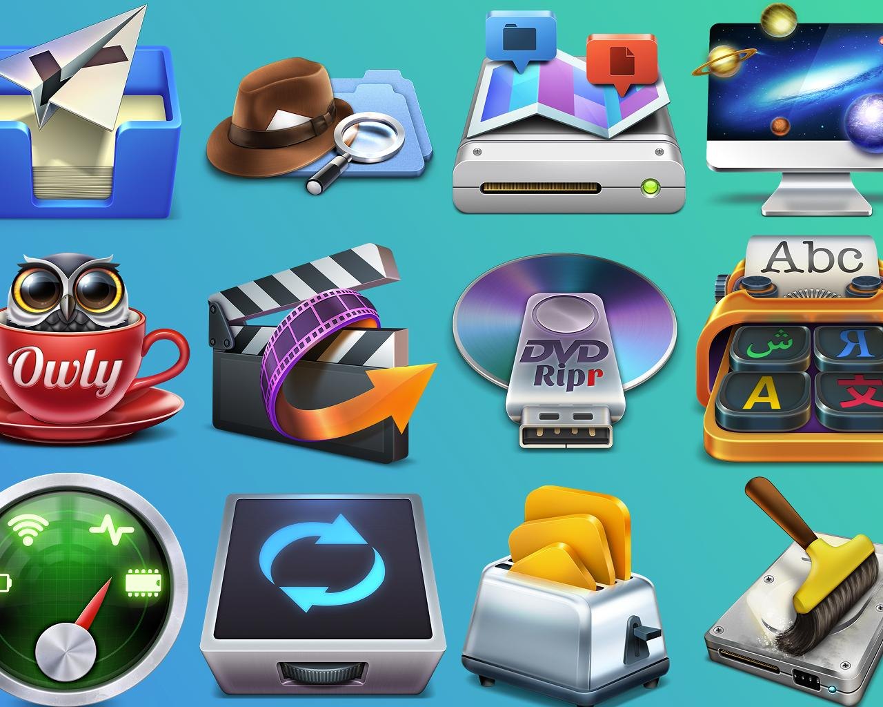Stunning Mac OSX App Icon by weirdeetz - 85440