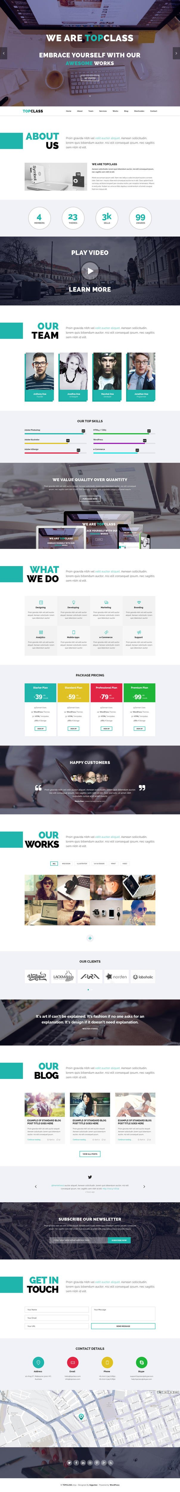PSD to Responsive HTML5+CSS3 by Jewel_Theme - 106346