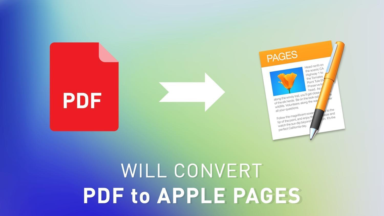 Convert PDF to Pages by arvaone - 115097