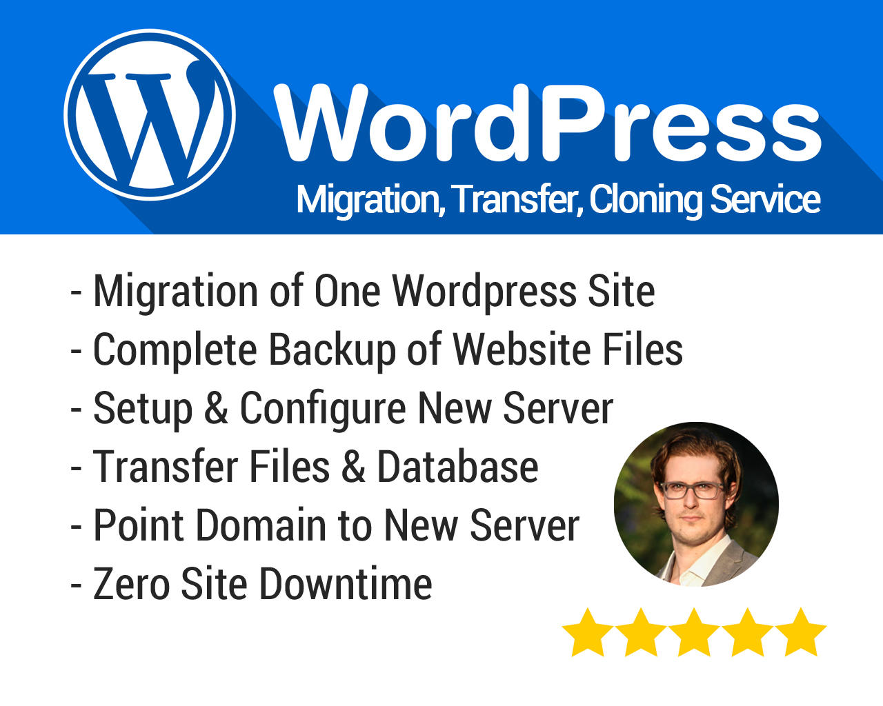 Wordpress Website Migration Transfer Moving Cloning Service by studioinlieu - 110162