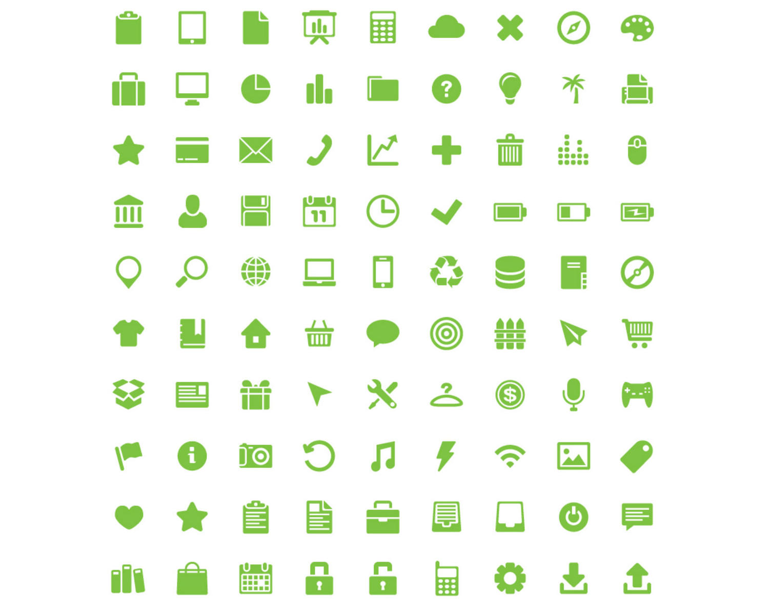 Professional & Custom Design Icon Set by madridnyc - 100150