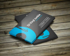 Creative Unique DJ Business Cards By Vinyljunkie On Envato Studio