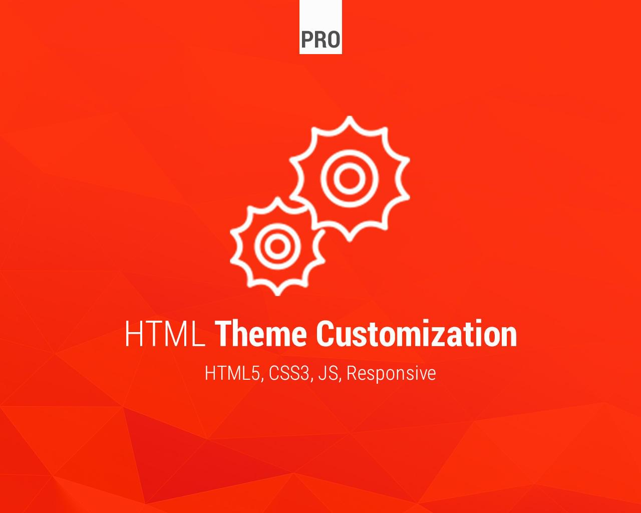 HTML Theme Customization - CSS / JS / Plugins by Lukasz_Czerwinski - 113567
