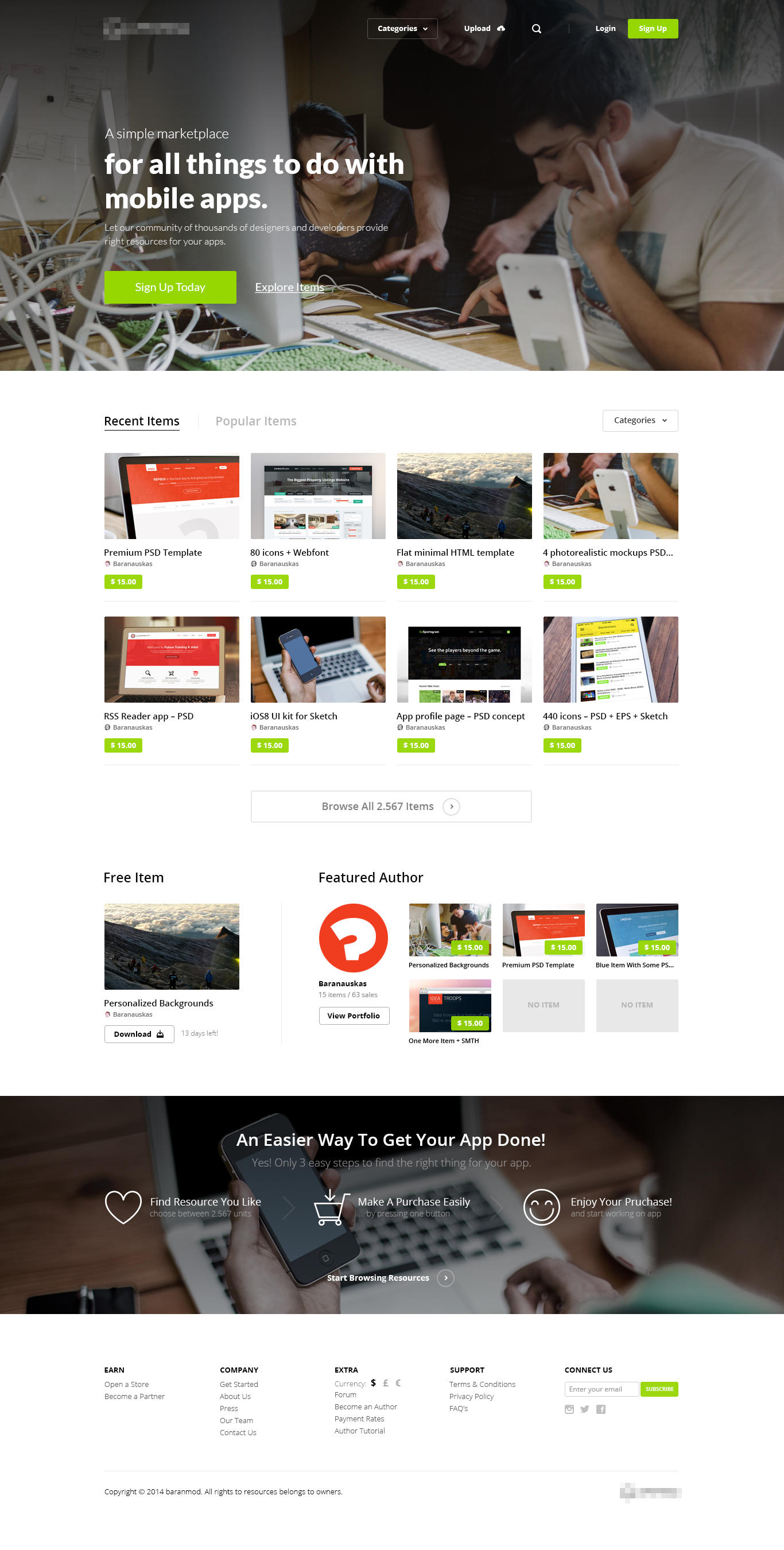 Home Page Design + 2 Inner Pages by baranmod - 56693
