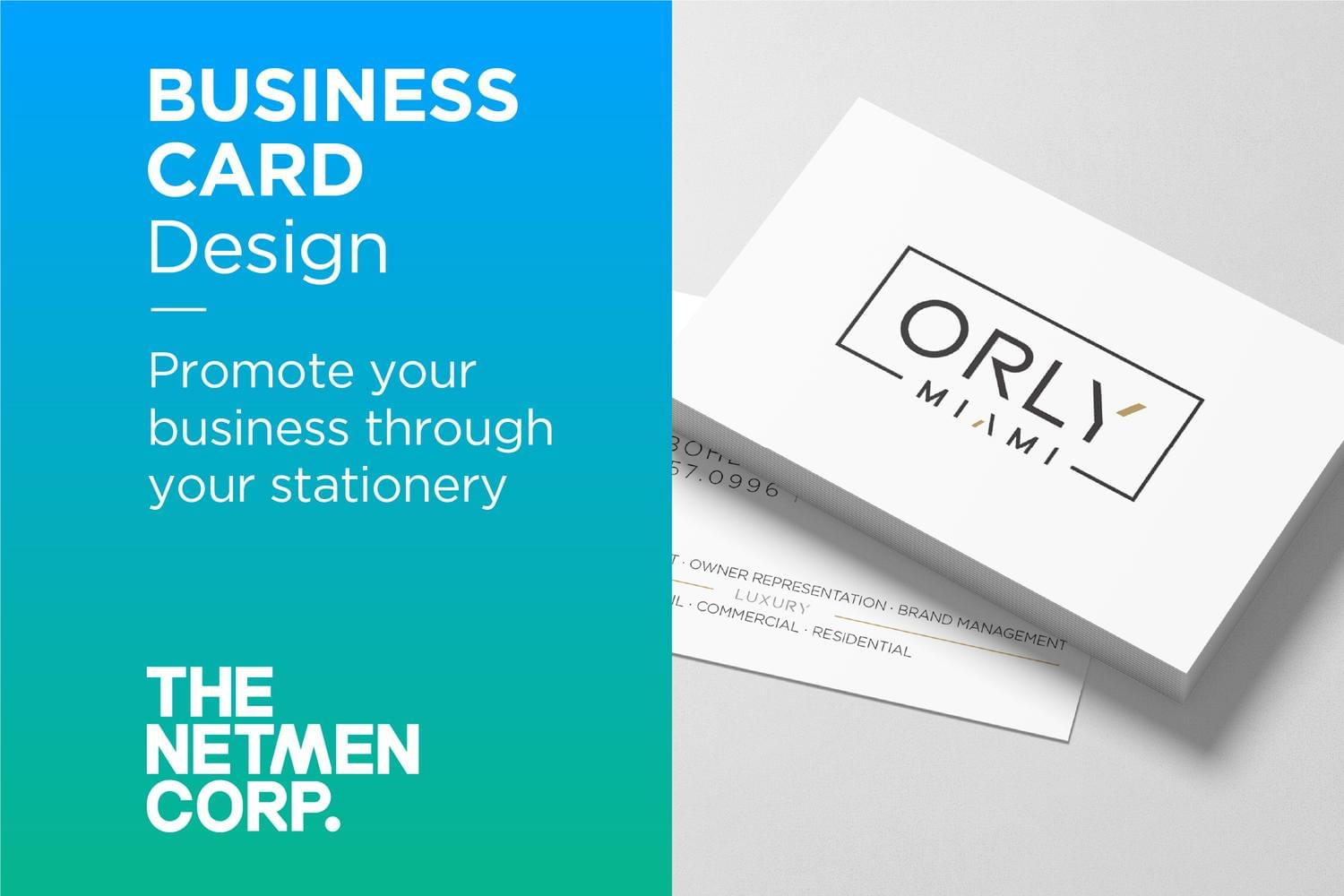 Original and Custom Business Card Design by thenetmen - 119513