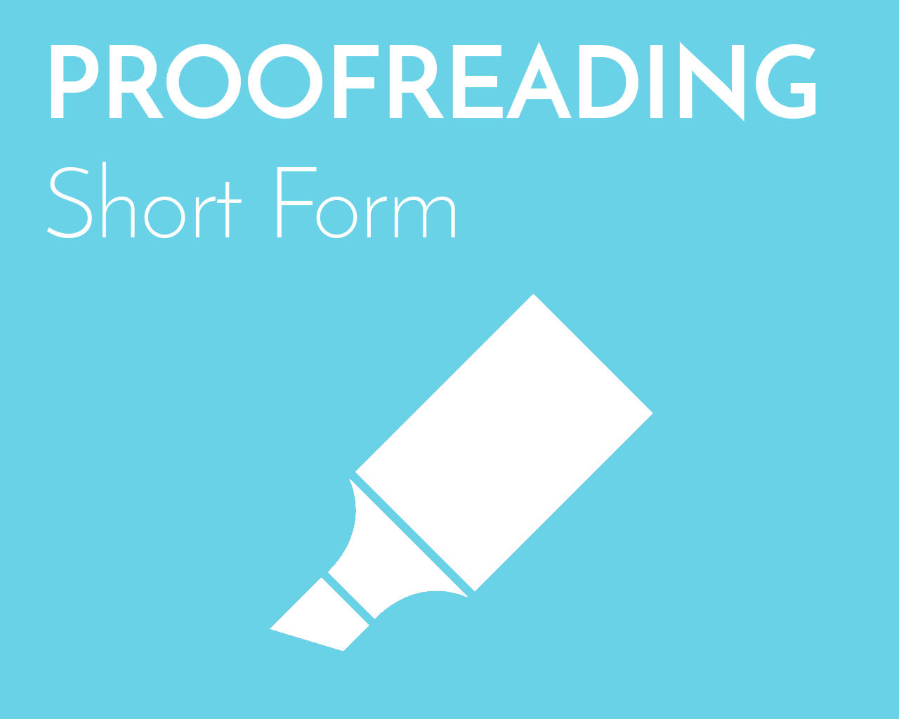 Professional Proofreading (Short Form) by emilyshore - 73448