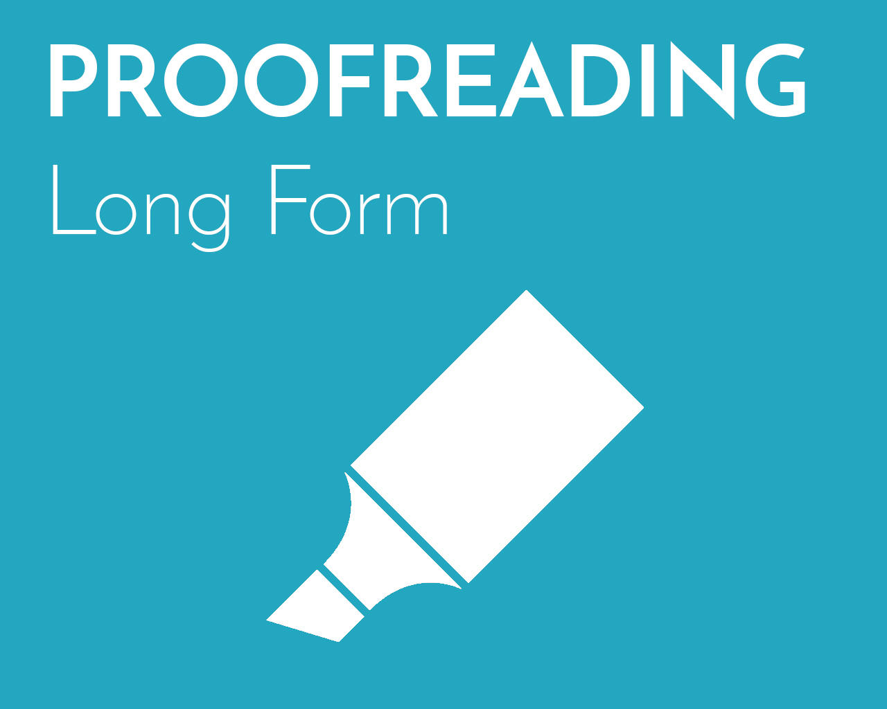 Professional Proofreading (Long Form) by emilyshore - 73456