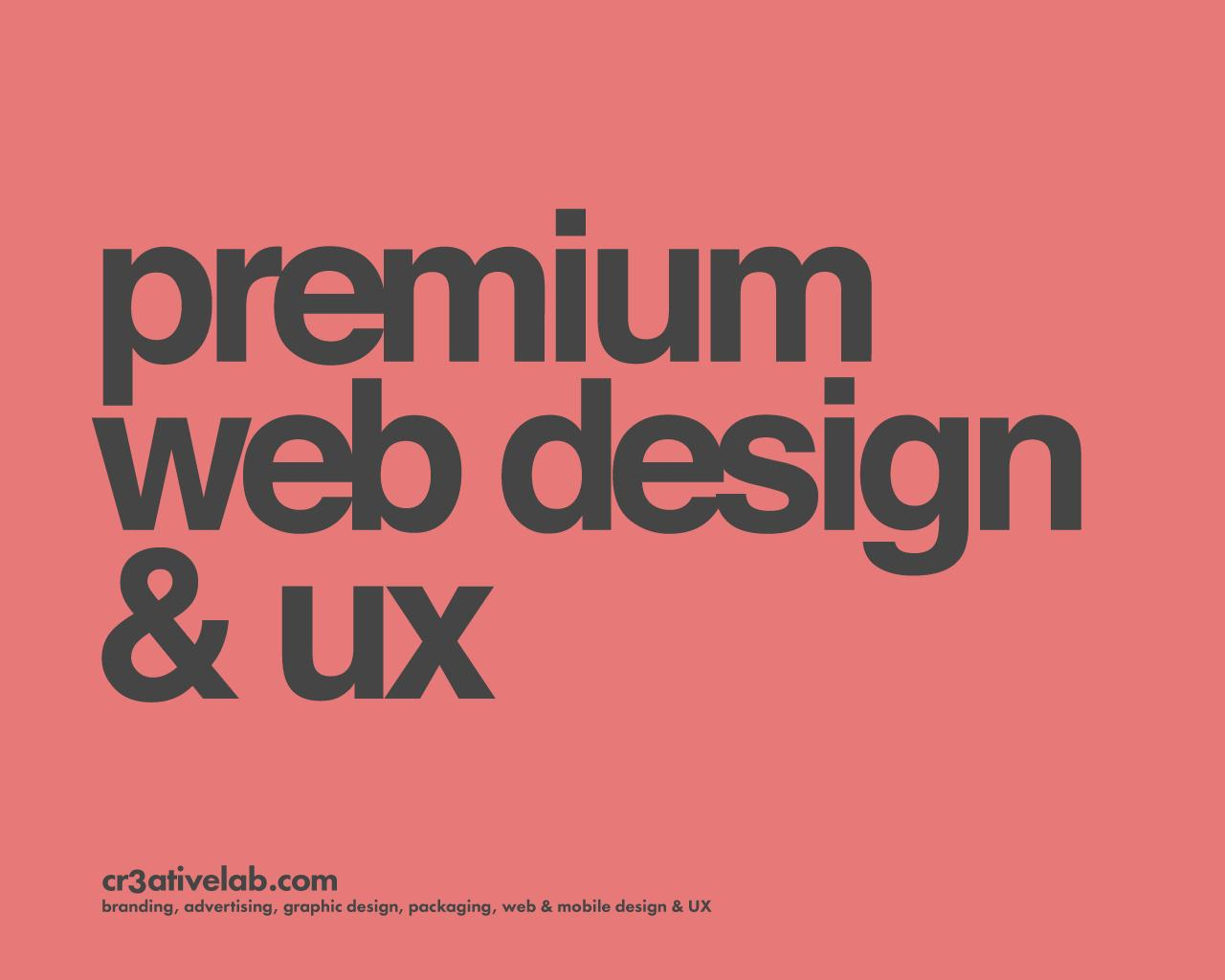 Premium Web Page Design & UX - PSD or Sketch by cr3ativelab - 103016
