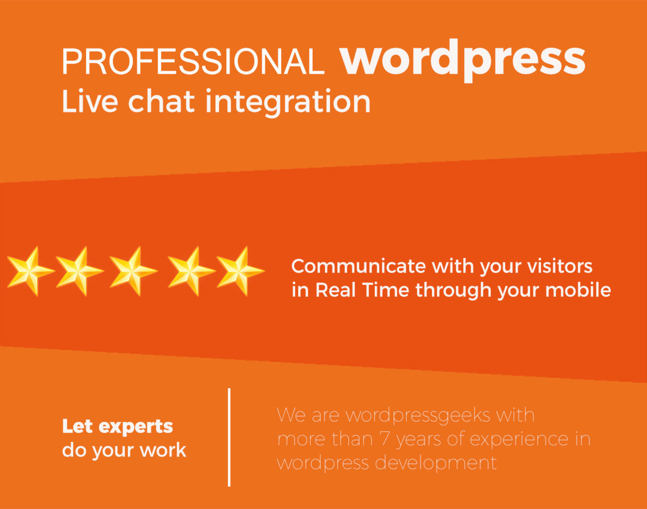 Live Chat Integration in your wordpress site by hibiscustechno - 109415