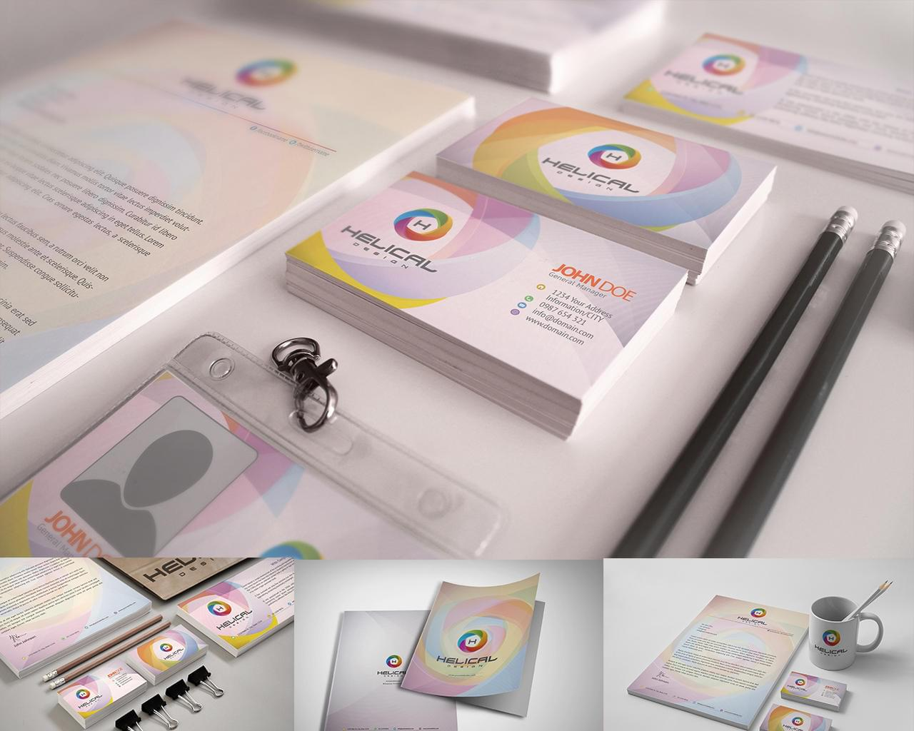Professional Stationery Design & Corporate and Branding of Identity Designs by hsynkyc - 114303