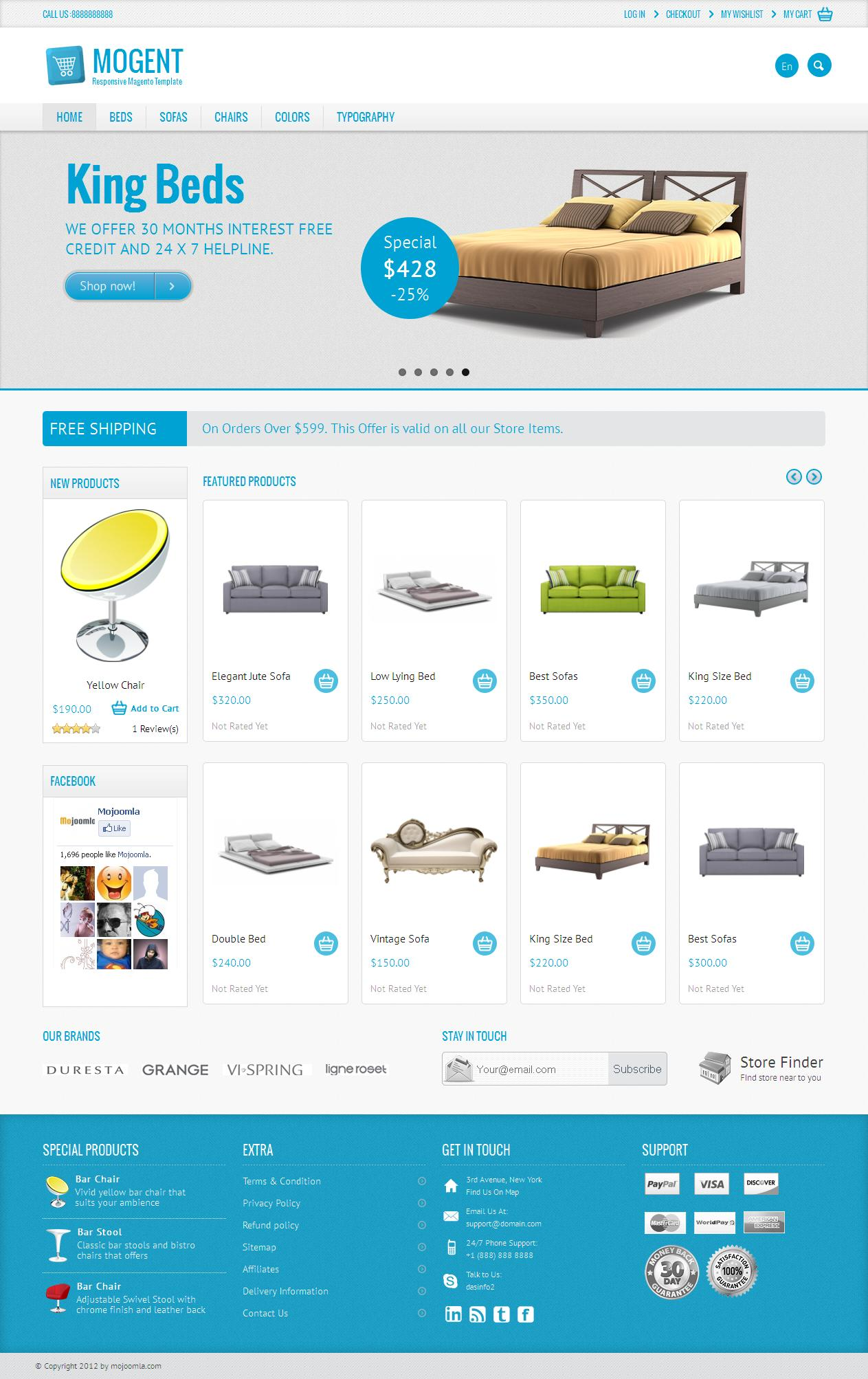 Magento Theme Customization by dasinfomedia - 16410